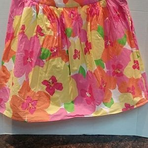 Lilly Pulitzer Colorful Mini Skirt